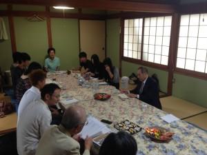香川大学時岡先生の研究室との懇談会